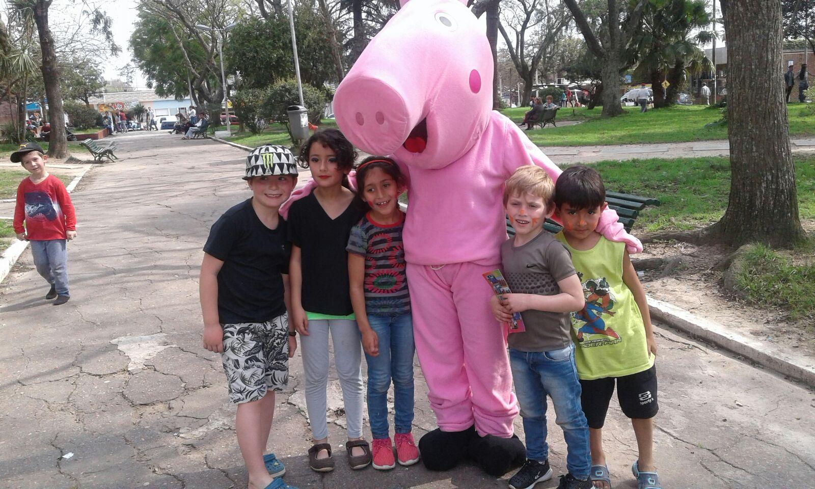 visita de Peppa Pig